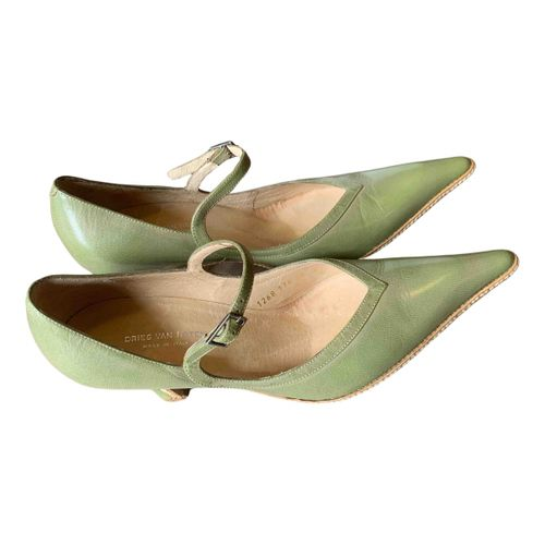 Dries Van Noten Leather heels