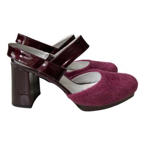 Amélie Pichard Leather sandals