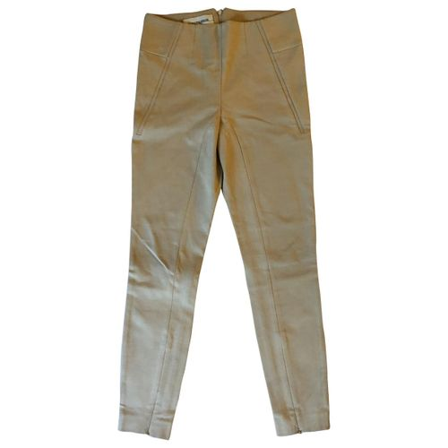 by Malene Birger Camel Synthetic Trousers