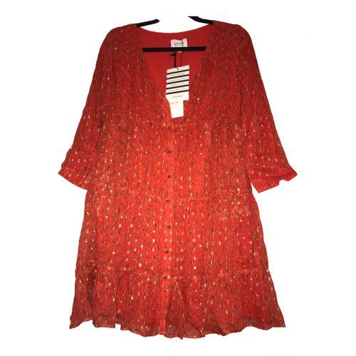 Sézane Silk mini dress