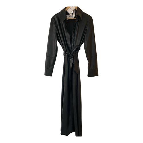 Nanushka Leather maxi dress