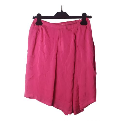 Dries Van Noten Silk mini skirt