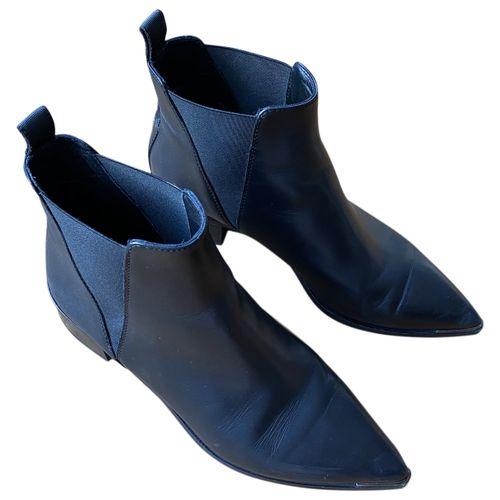 Acne Studios Jensen / Jenny leather ankle boots