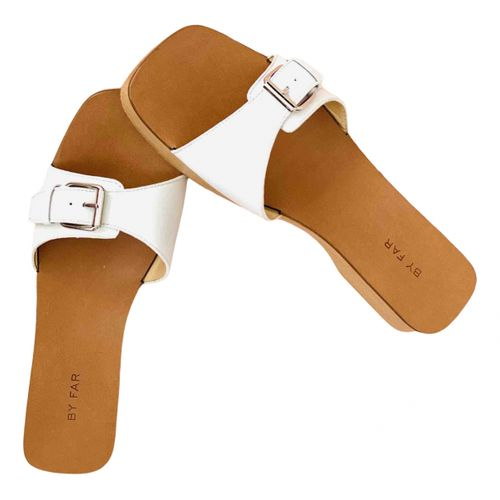 By Far Leather mules