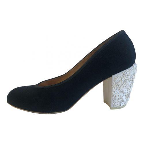 Dries Van Noten Cloth heels