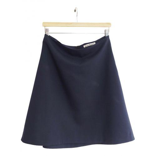 Acne Studios Wool skirt