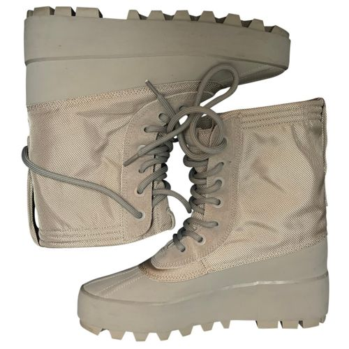 Yeezy x Adidas Cloth ankle boots