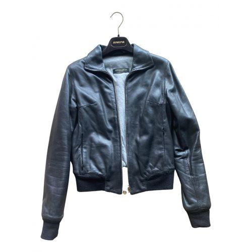Golden Goose Leather biker jacket