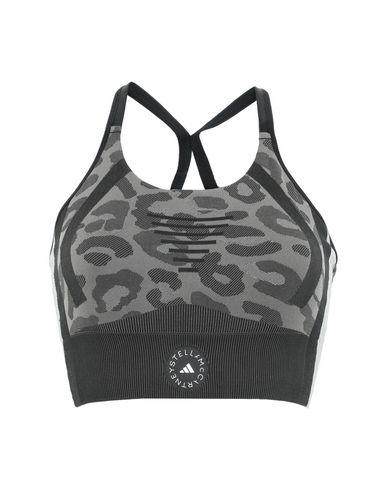 Adidas By Stella Mccartney Women Top Steel grey XS INT