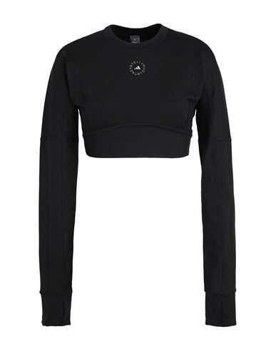 Adidas By Stella Mccartney Women T-shirt Black XS INT