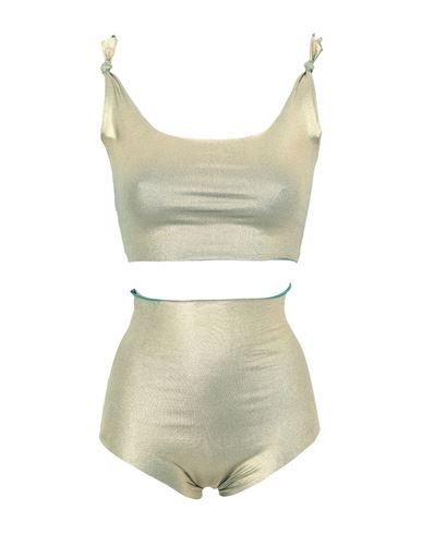 Isole & Vulcani Women Bikini Gold M INT