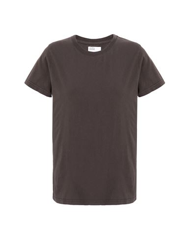 Colorful Standard Women T-shirt Dark brown XS INT