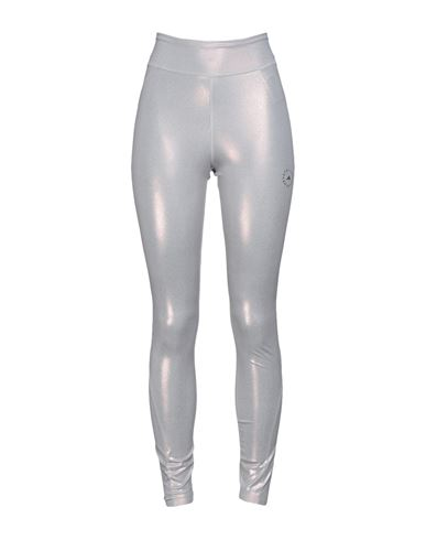 Adidas By Stella Mccartney Women Leggings Silver XS INT