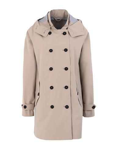 Save The Duck Women Overcoat Beige 0 Designer