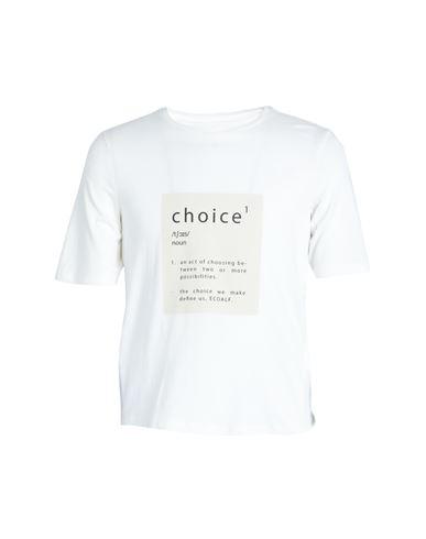 Ecoalf Women T-shirt White XS INT