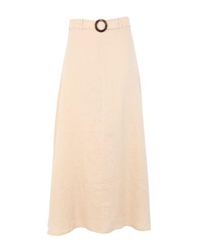 Faithfull The Brand Women Long skirt Sand XS INT