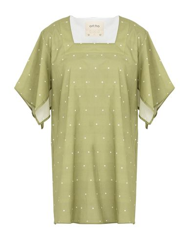 Rakha Women Short dress Light green M INT