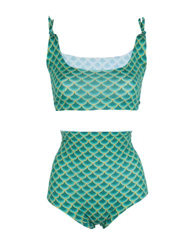 Isole & Vulcani Women Bikini Green L INT
