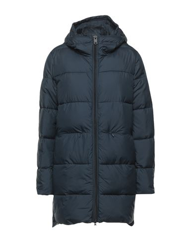 Ecoalf Women Down jacket Dark blue XS INT