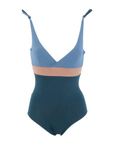 Isole & Vulcani Women One-piece swimsuit Deep jade L INT