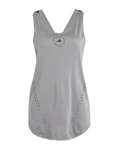 Adidas By Stella Mccartney Women Top Grey XS INT