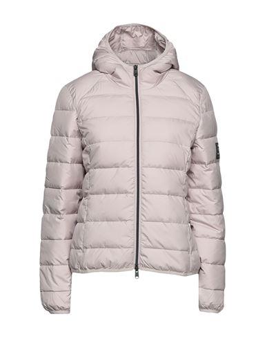 Ecoalf Women Down jacket Light brown XS INT