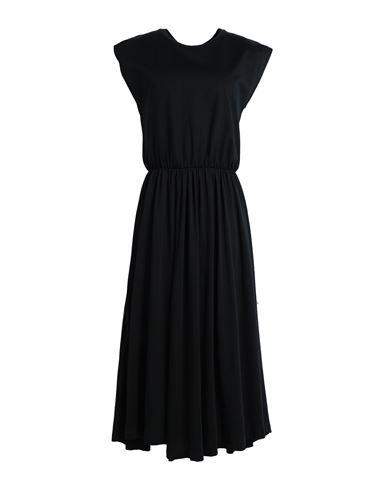Ninety Percent Women Midi dress Black XS INT