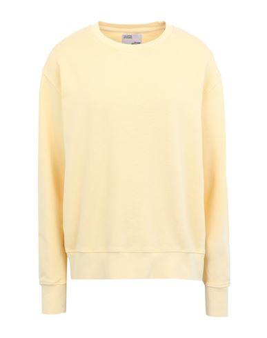 Colorful Standard Women Sweatshirt Light yellow M INT