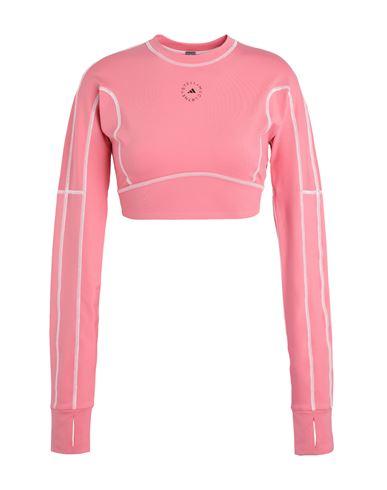 Adidas By Stella Mccartney Women T-shirt Coral XS INT