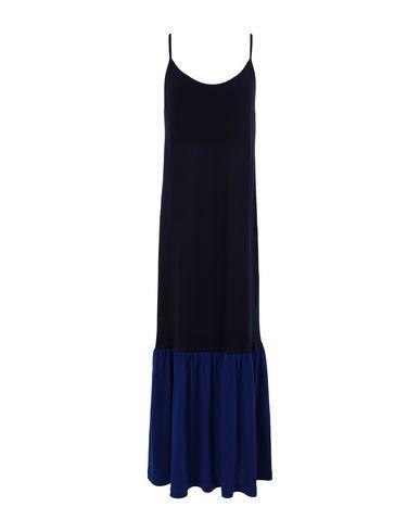 Ninety Percent Women Long dress Dark blue XS INT