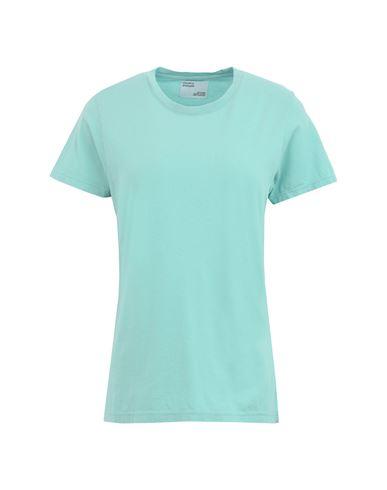 Colorful Standard Women T-shirt Light green XS INT
