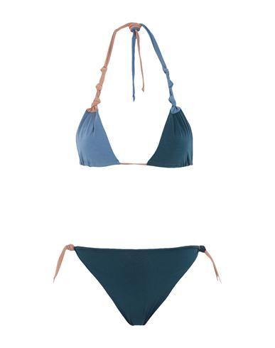 Isole & Vulcani Women Bikini Deep jade ONESIZE INT