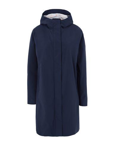 Save The Duck Women Overcoat Dark blue 3 Designer
