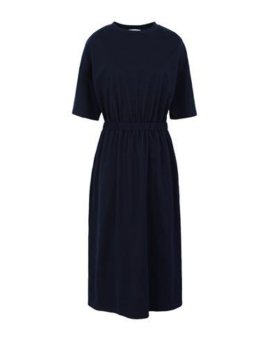 Ninety Percent Women Midi dress Dark blue XS INT