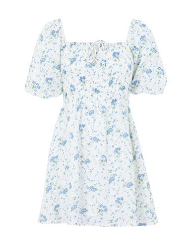 Faithfull The Brand Women Short dress Azure 40 IT