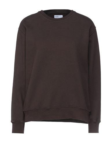 Colorful Standard Women Sweatshirt Dark brown XS INT