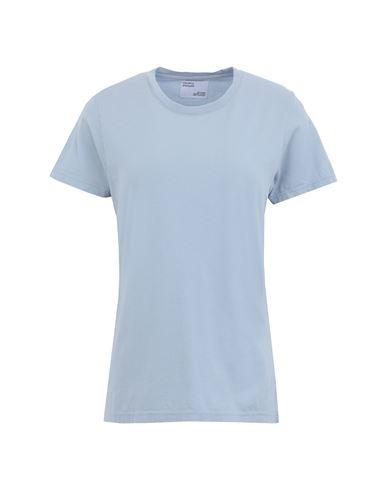 Colorful Standard Women T-shirt Sky blue XS INT