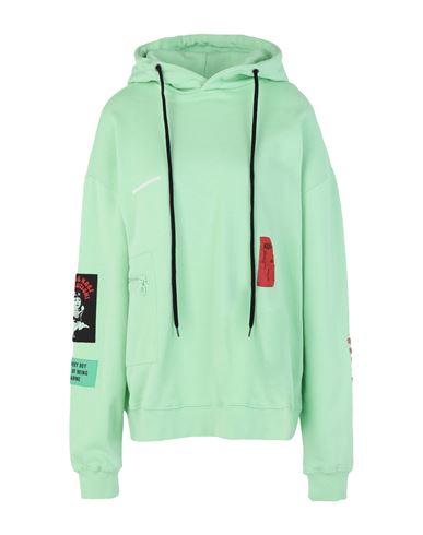 Kidsofbrokenfuture Women Sweatshirt Light green S INT