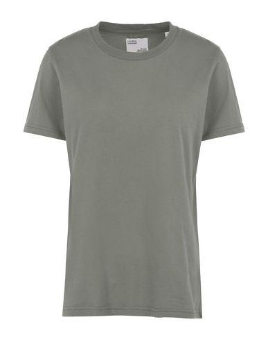 Colorful Standard Women T-shirt Military green XS INT