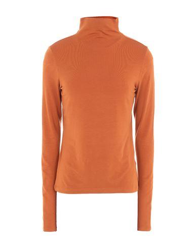 Ninety Percent Women T-shirt Rust XS INT