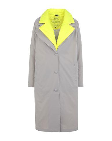 Ecoalf Women Overcoat Grey XS INT