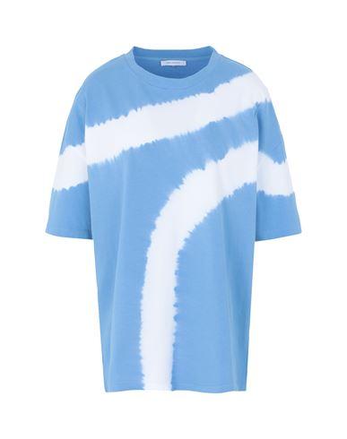 Ninety Percent Women T-shirt Azure XS INT