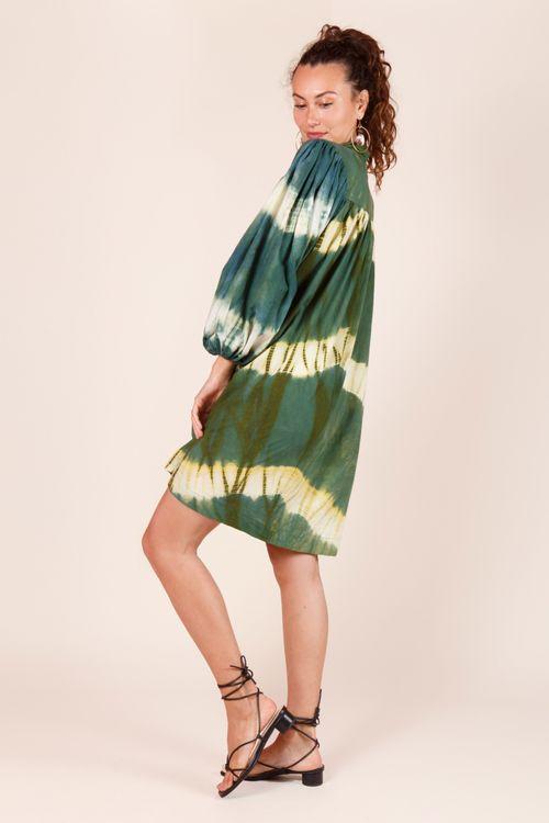 Short shibori dress - Neetu