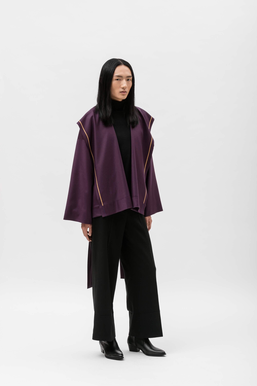 CHIARA - Purple/Beige